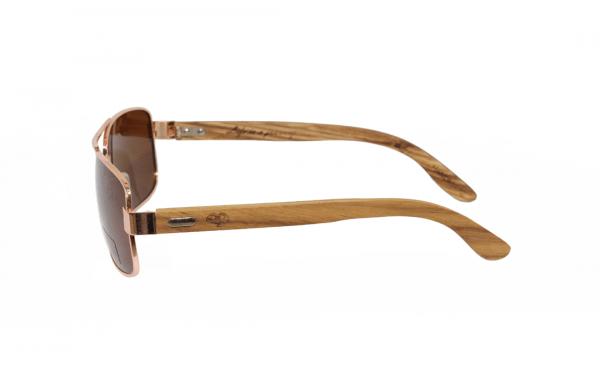 Brown Rider wooden sunglasses