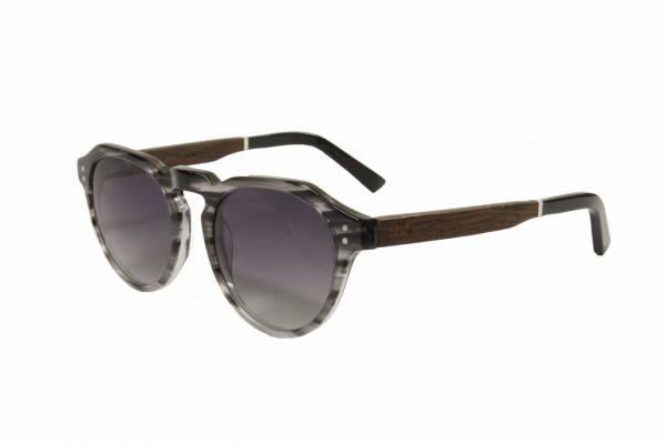 Line Grey wooden sunglasses