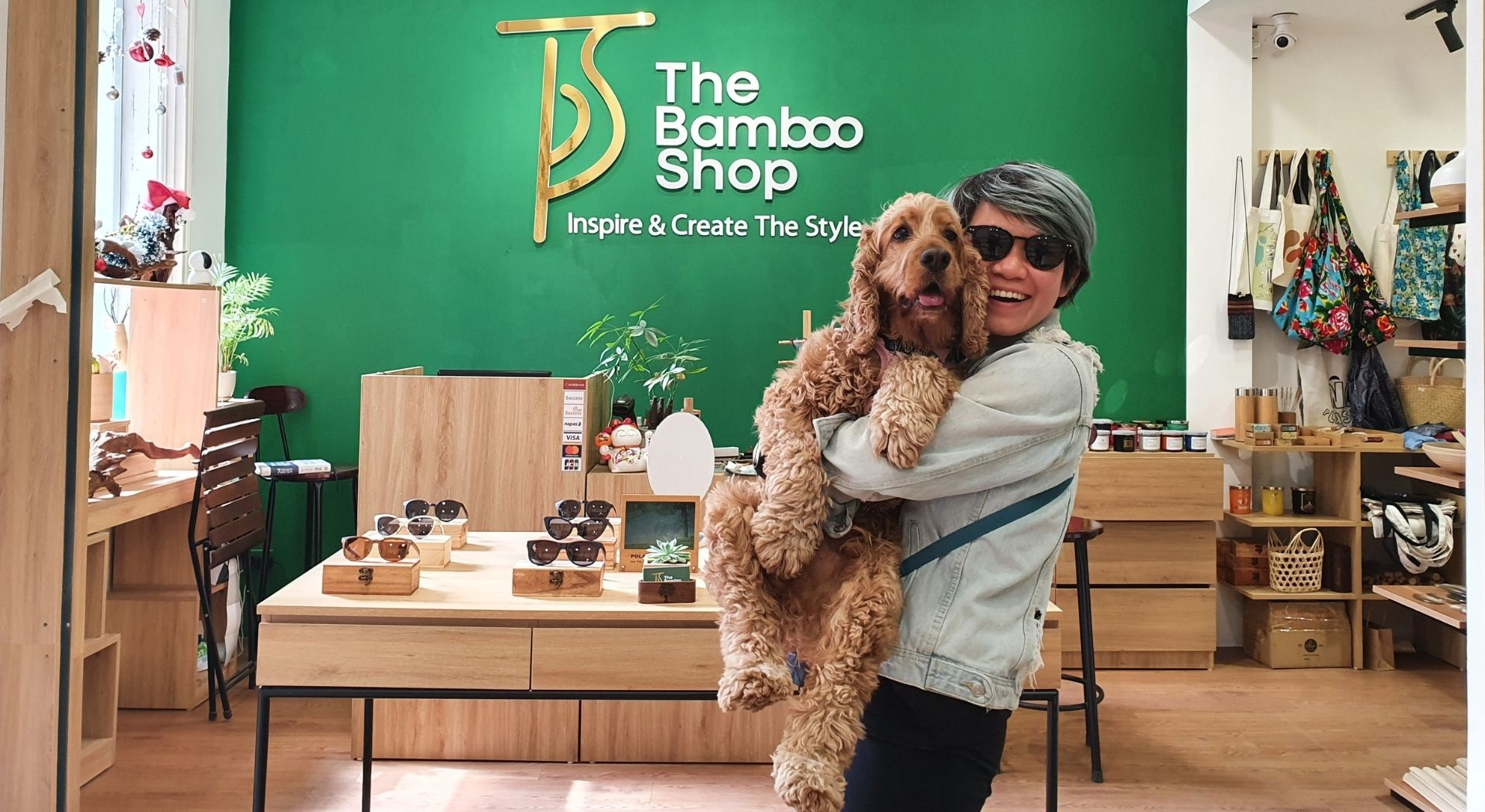 Tận hưởng không khí mua sắm tuyệt vời tại The Bamboo Shop